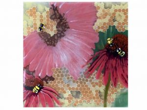 Pollinators Painting by Dori Settles